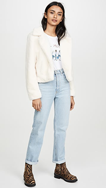 Blank Denim Pop Coat