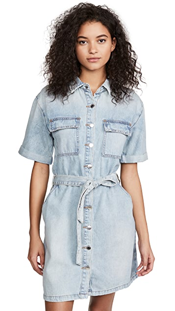 Blank Denim Carribean Blue Dress