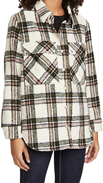 Blank Denim Outsider Plaid Jacket