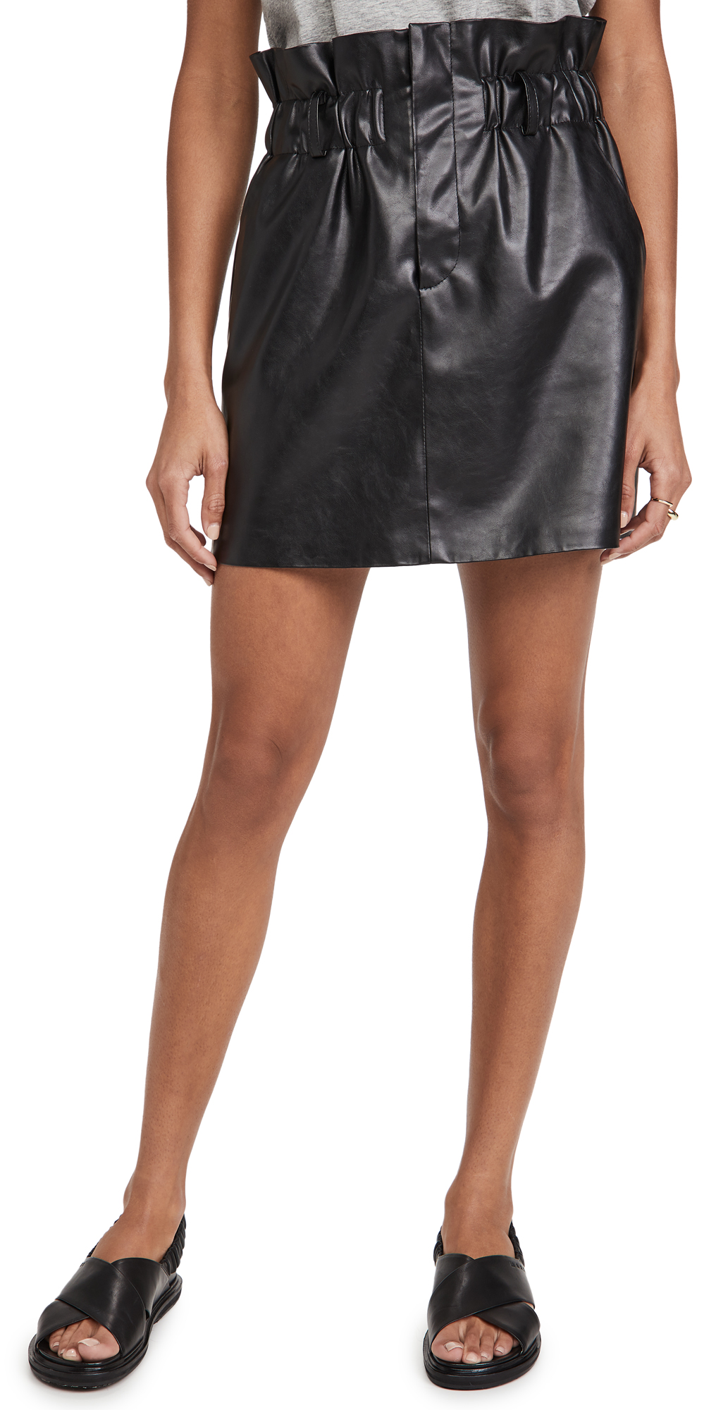 Blank Denim Hotline Mini Skirt