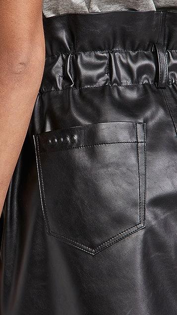 Blank Denim Hotline Mini Skirt