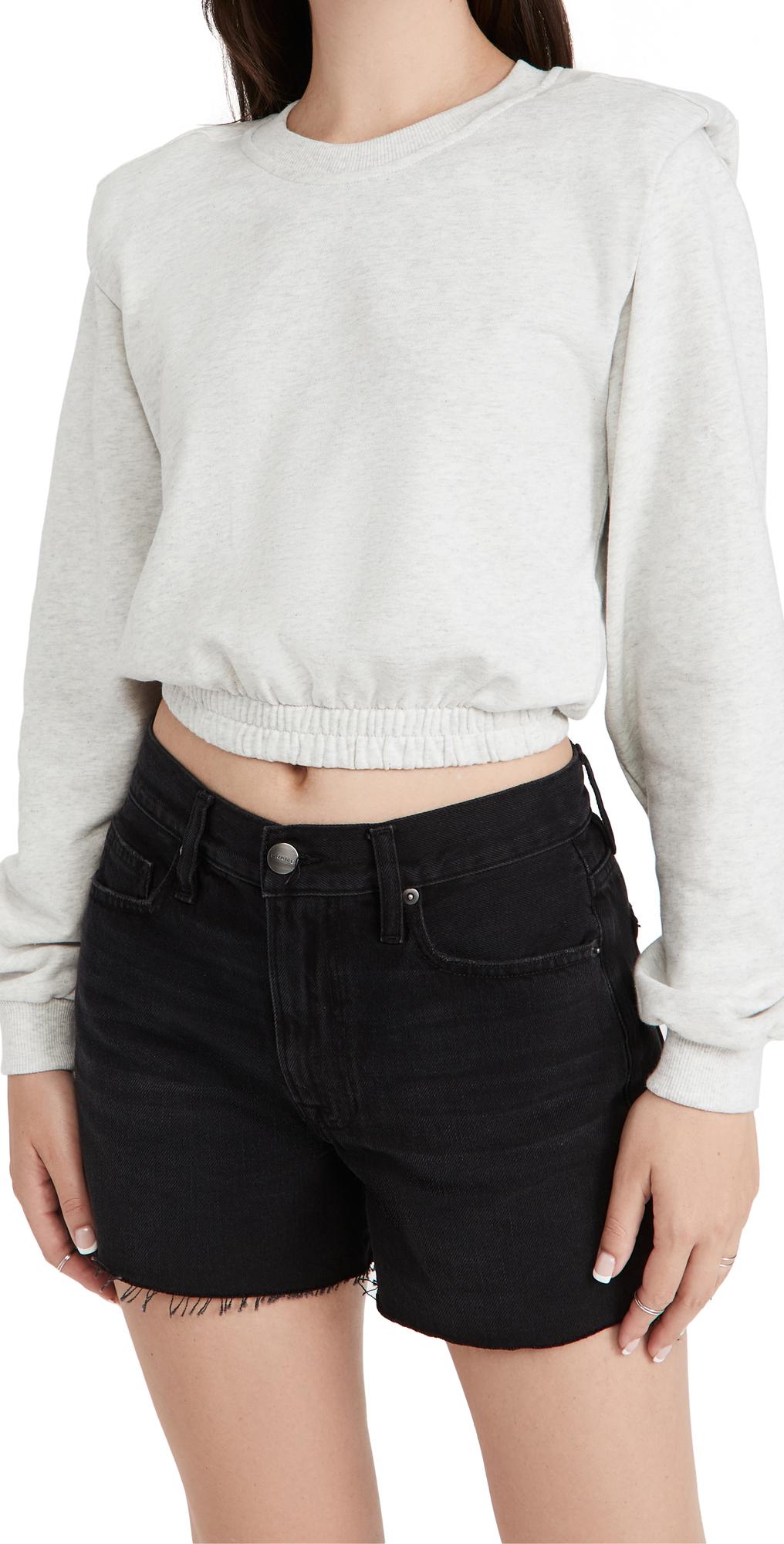 Icicle Shoulder Pad Sweatshirt