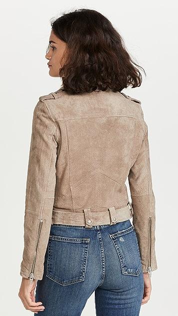 Blank Denim 绒面革夹克