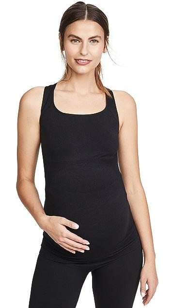 BLANQI 孕妇装运动支撑后身交叉背心