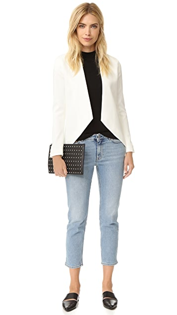 Blaque Label Ivory Blazer