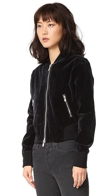 BLK DNM Velvet Jacket