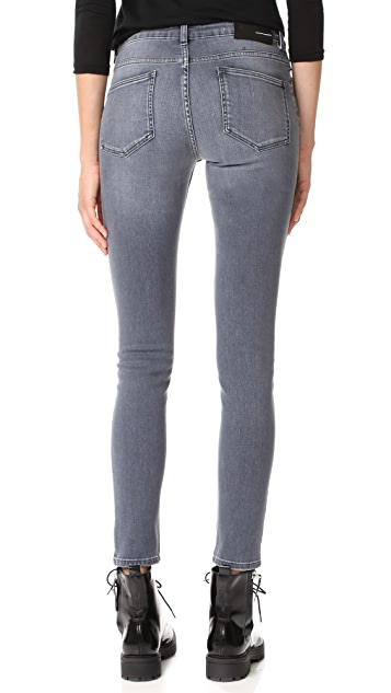BLK DNM Jean 22 Mid Rise Skinny Jeans