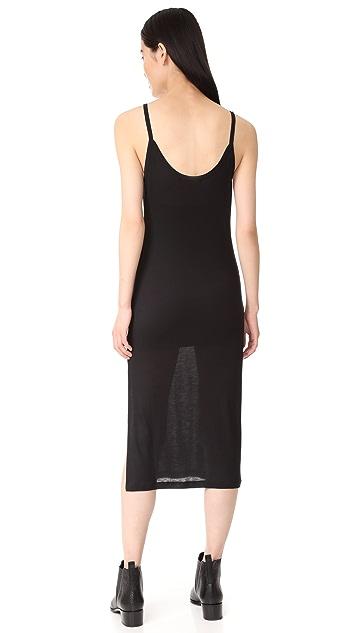 BLK DNM Dress 5 Rib Tank Dress