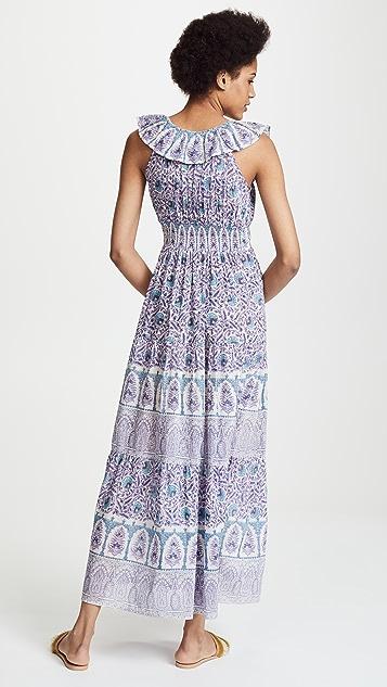 Bell Printed Maxi Dress