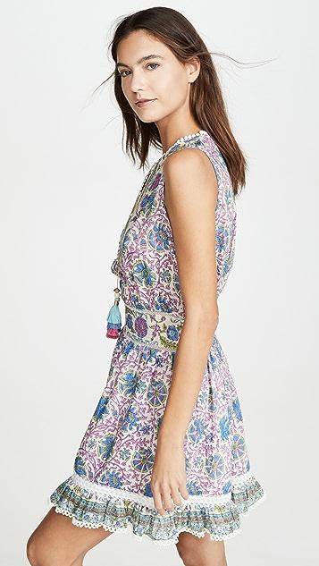 喇叭花紫 Ava 连衣裙