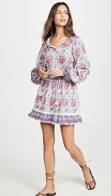 喇叭花紫 Kylie 连衣裙