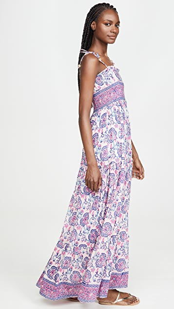 Bell Smocked Maxi Dress