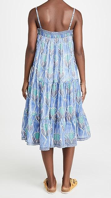 喇叭花紫 Allison 连衣裙