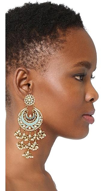 Blossom Box Ornate Chandelier Earring