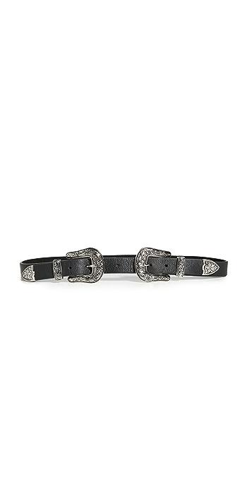 B-Low The Belt Baby Bri Bri Belt - Black/Silver