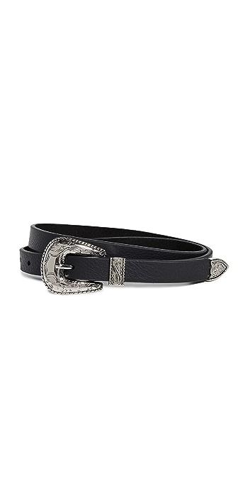 B-Low The Belt Baby Frank Belt - Black/Silver