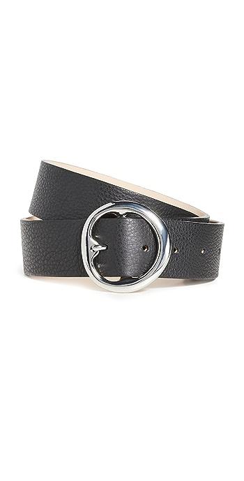 B-Low The Belt Baby Bell Bottom Belt - Black/Silver