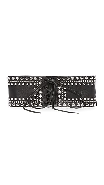 B-Low The Belt Moto Corset Belt