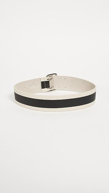 B-Low The Belt Griffin Stripe Belt