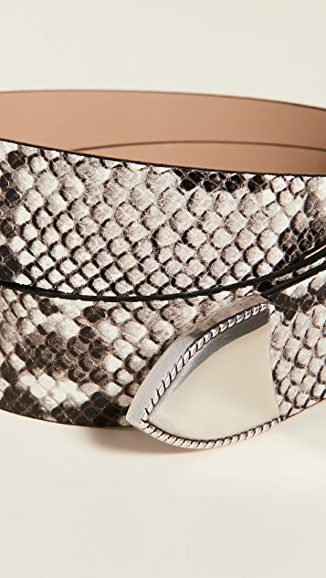 B-Low The Belt Vilain Python Belt