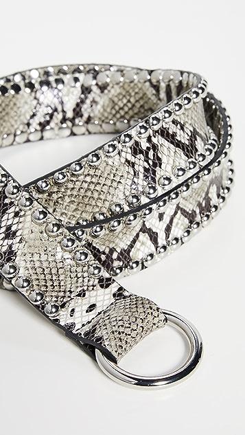 B-Low The Belt Mia Moto Python Belt