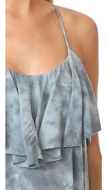 Blue Life Enchanted Tie Back Ruffle Dress