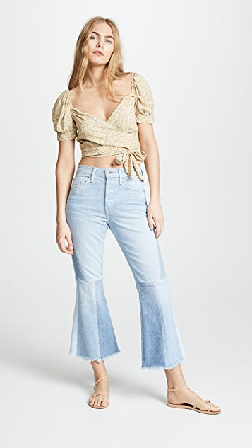 Blue Life Alice Wrap Top