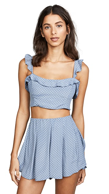 Blue Life Perfect Crush Top