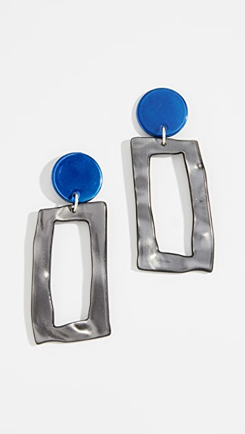 Bianca Mavrick Frame Earrings