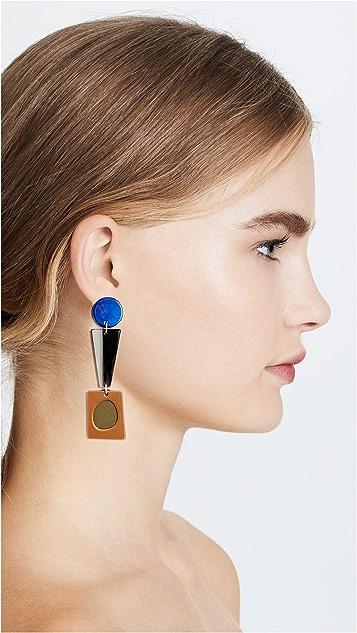 Bianca Mavrick Collage Earrings