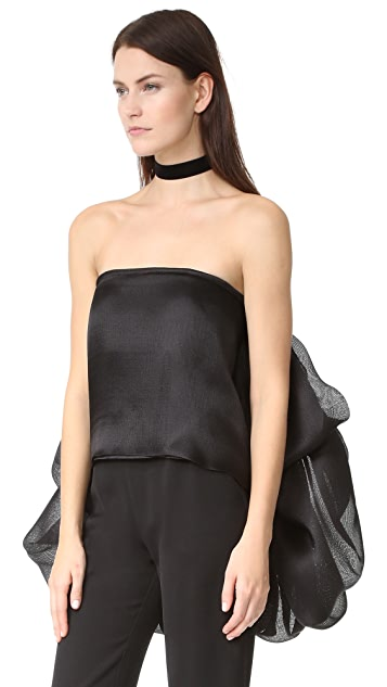 Brandon Maxwell Strapless Top