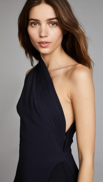 Brandon Maxwell One Shoulder Tank