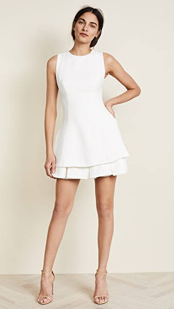 Brandon Maxwell Tennis Dress