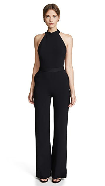Brandon Maxwell Bow Back Jumpsuit