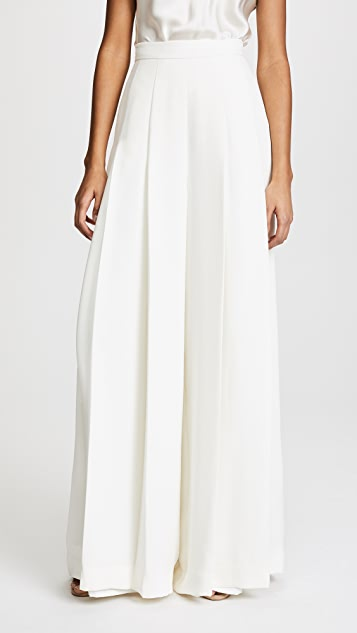 Brandon Maxwell Pleated Pants