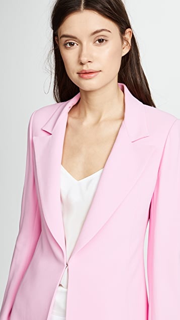 Brandon Maxwell Double Faced Jacket