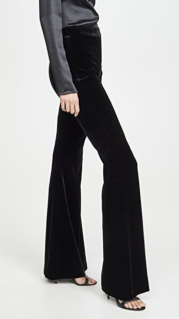 Brandon Maxwell Classic Flare Pants