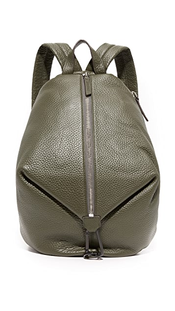 Uri Minkoff Julio Pebbled Leather Backpack
