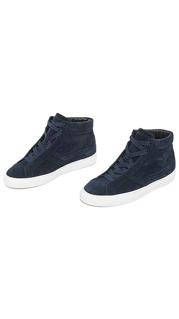 Uri Minkoff Carlisle Suede High Top Sneakers