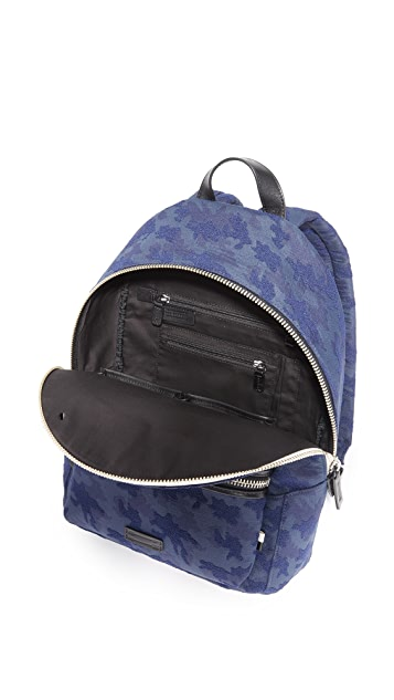 Uri Minkoff Paul Camo Nylon Backpack