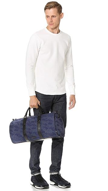 Uri Minkoff Gary Camo Nylon Duffel Bag