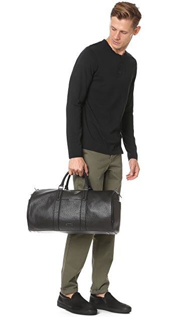 Uri Minkoff Gary Pebbled Leather Duffel