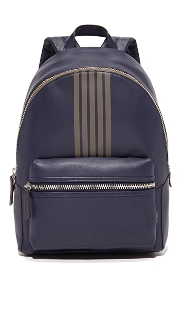 Uri Minkoff Striped Leather Paul Backpack