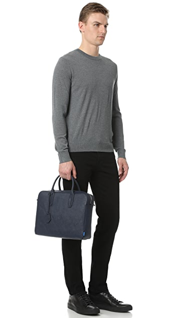Uri Minkoff Saffiano Leather Fulton Briefcase