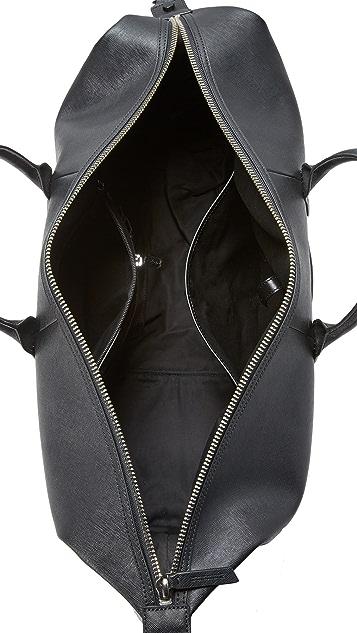 Uri Minkoff Saffiano Leather Wythe Weekender