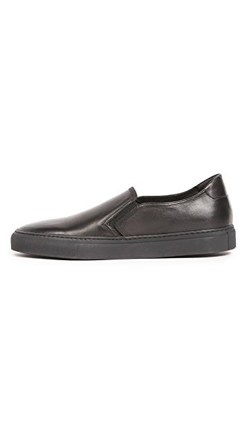 Uri Minkoff Canal Leather Slip On Sneakers