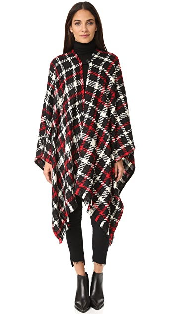 Boutique Moschino Tweed Cape