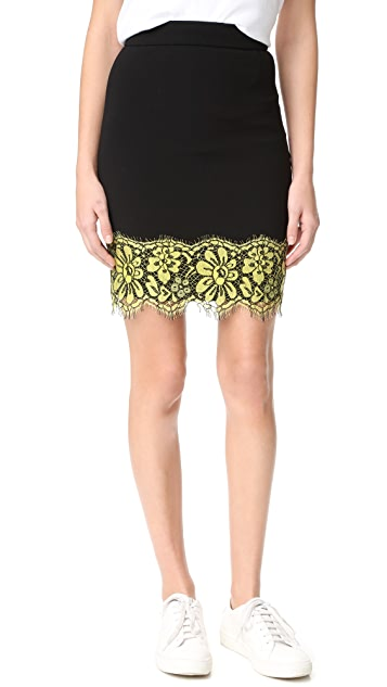 Boutique Moschino Scalloped Skirt