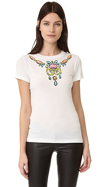 Boutique Moschino Short Sleeve Top