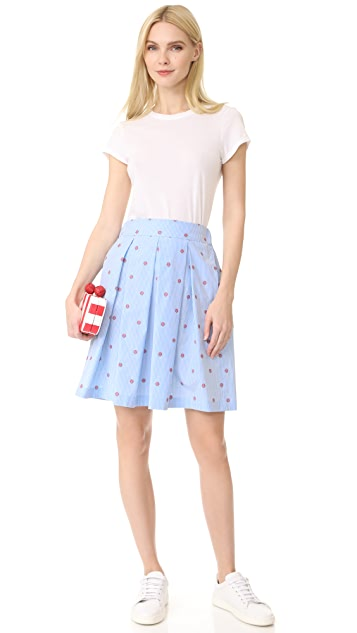 Boutique Moschino Flared Skirt